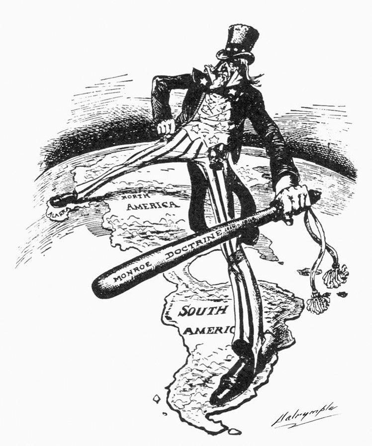 Monroe Doctrine Political Cartoon Analysis Mrs Ericksons US – Monroe Doctrine Worksheet